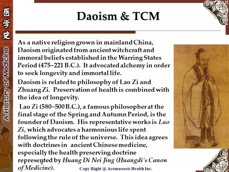 Ancient Chinese Philosophy & TCM 8
