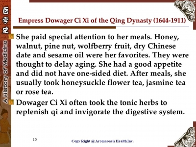 Health Care Secret with Kings and Queens with Long Lives in Chinese History 10
