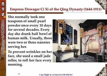 Health Care Secret with Kings and Queens with Long Lives in Chinese History 11