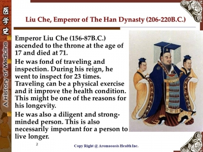 Health Care Secret with Kings and Queens with Long Lives in Chinese History 2