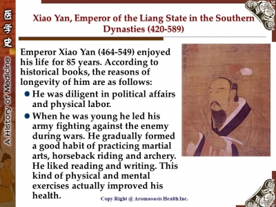 Health Care Secret with Kings and Queens with Long Lives in Chinese History 3