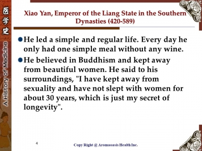 Health Care Secret with Kings and Queens with Long Lives in Chinese History 4