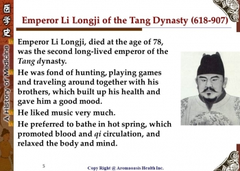Health Care Secret with Kings and Queens with Long Lives in Chinese History 5