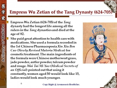 Health Care Secret with Kings and Queens with Long Lives in Chinese History 6
