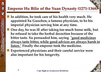 Health Care Secret with Kings and Queens with Long Lives in Chinese History 8